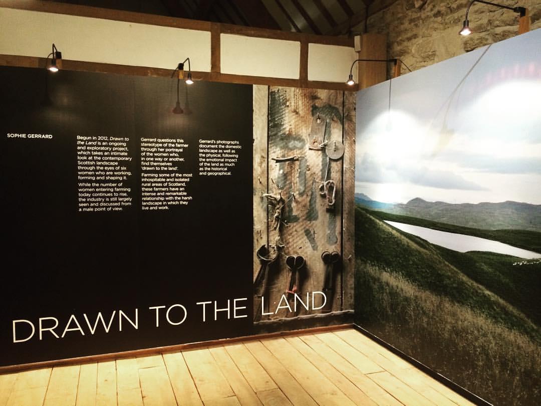 installation view Fox Talbot exhibition 2016-17