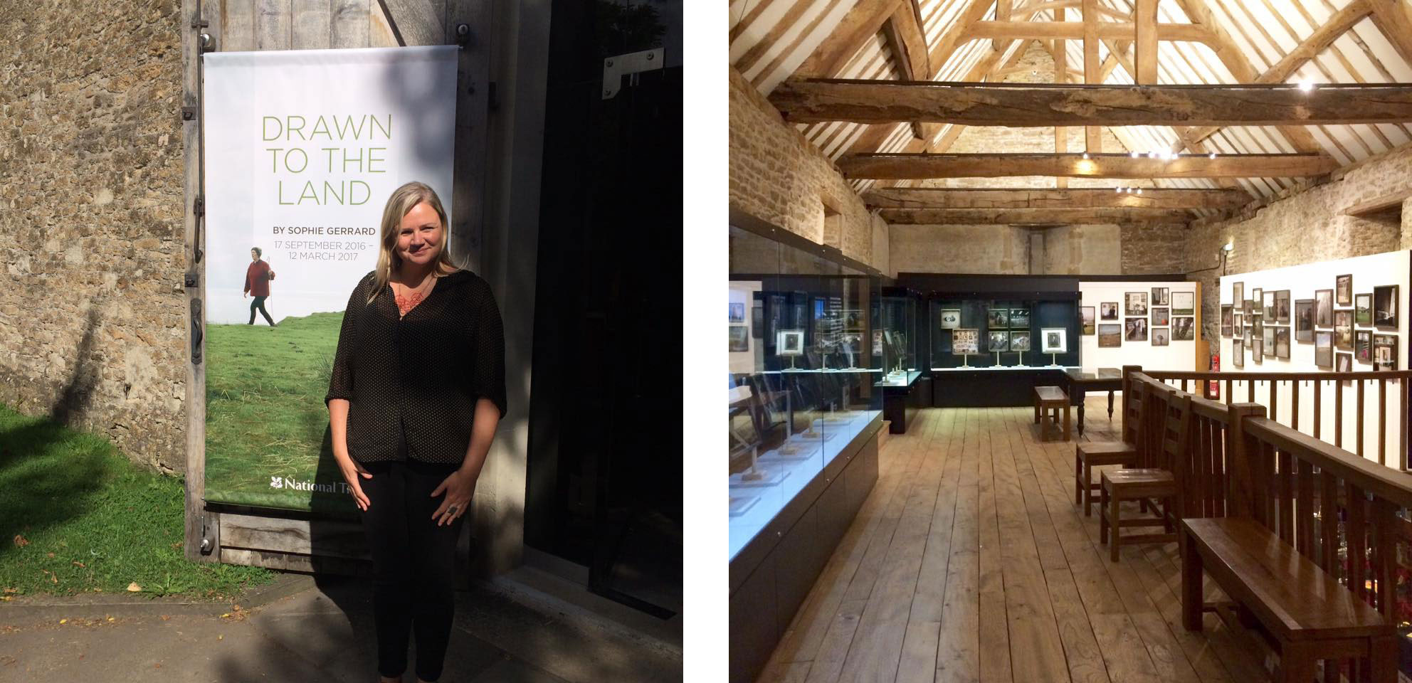 External pic and installation view of Fox Talbot solo exhibition