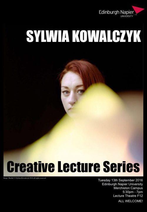 Edinburgh Napier University Creative Lecture Series - Sylwia Kowalczyk